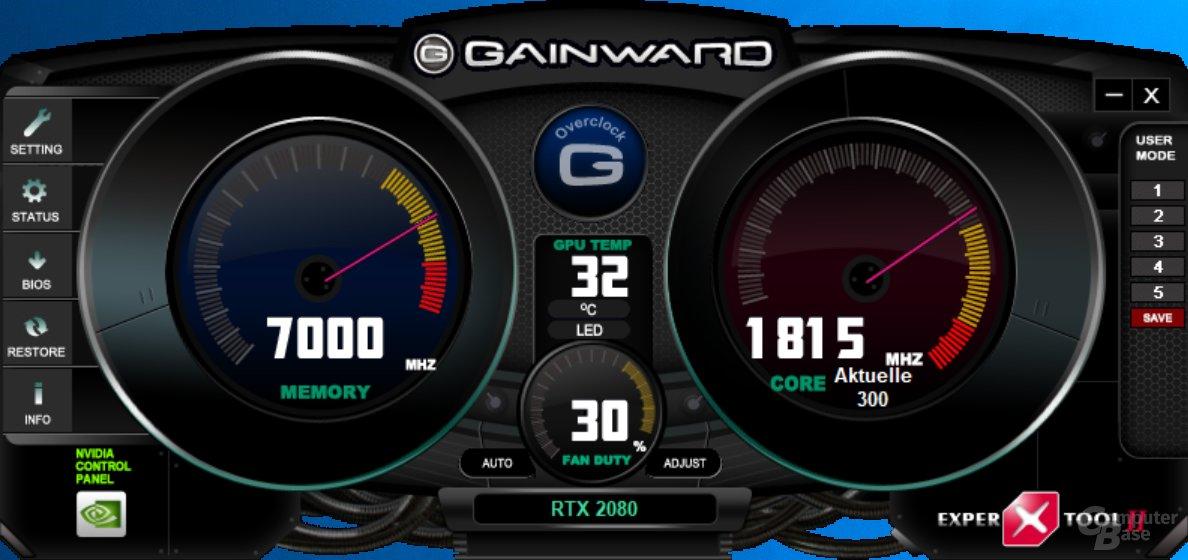 Gainward Expert Tool