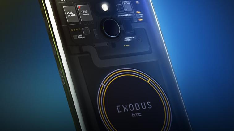 HTC Exodus 1: Smartphone mit Secure Enclave für Kryptowährungen