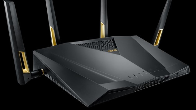 Wi-Fi 6: WLAN-ax-Router Asus RT-AX88U ist ab 355 Euro lieferbar
