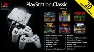 PlayStation Classic: Liste der installierten Spiele veröffentlicht