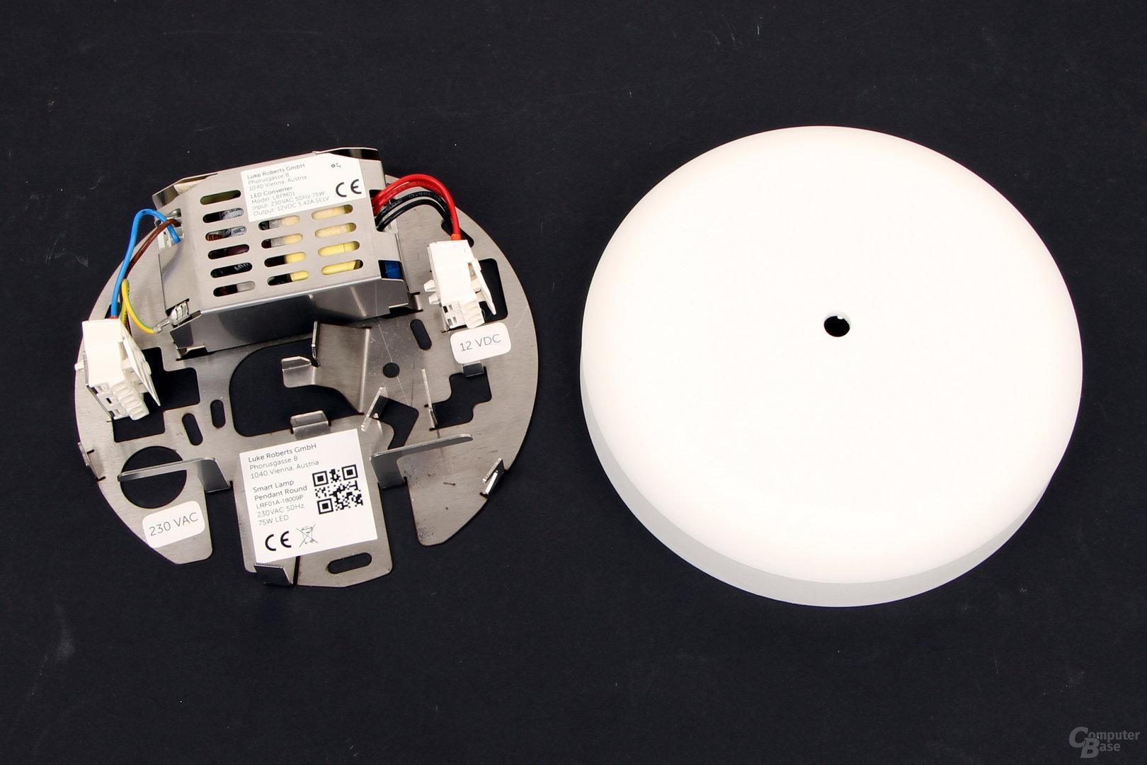 Luke Roberts Model F – LED-Inverter und Deckenaufhängung