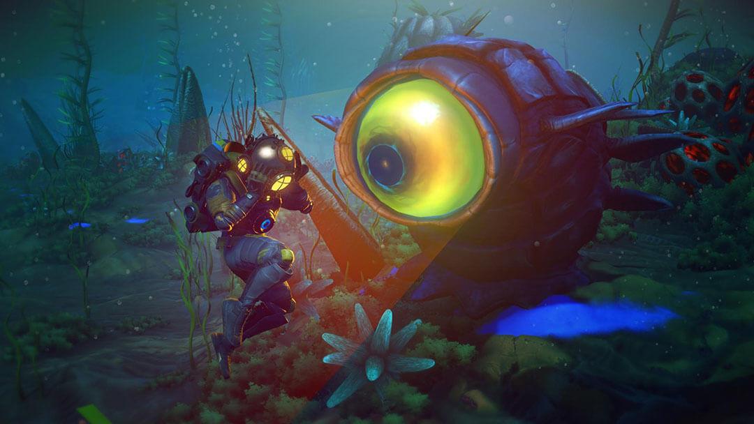 The Abyss: No Man's Sky erhält neue Unterwasserwelten