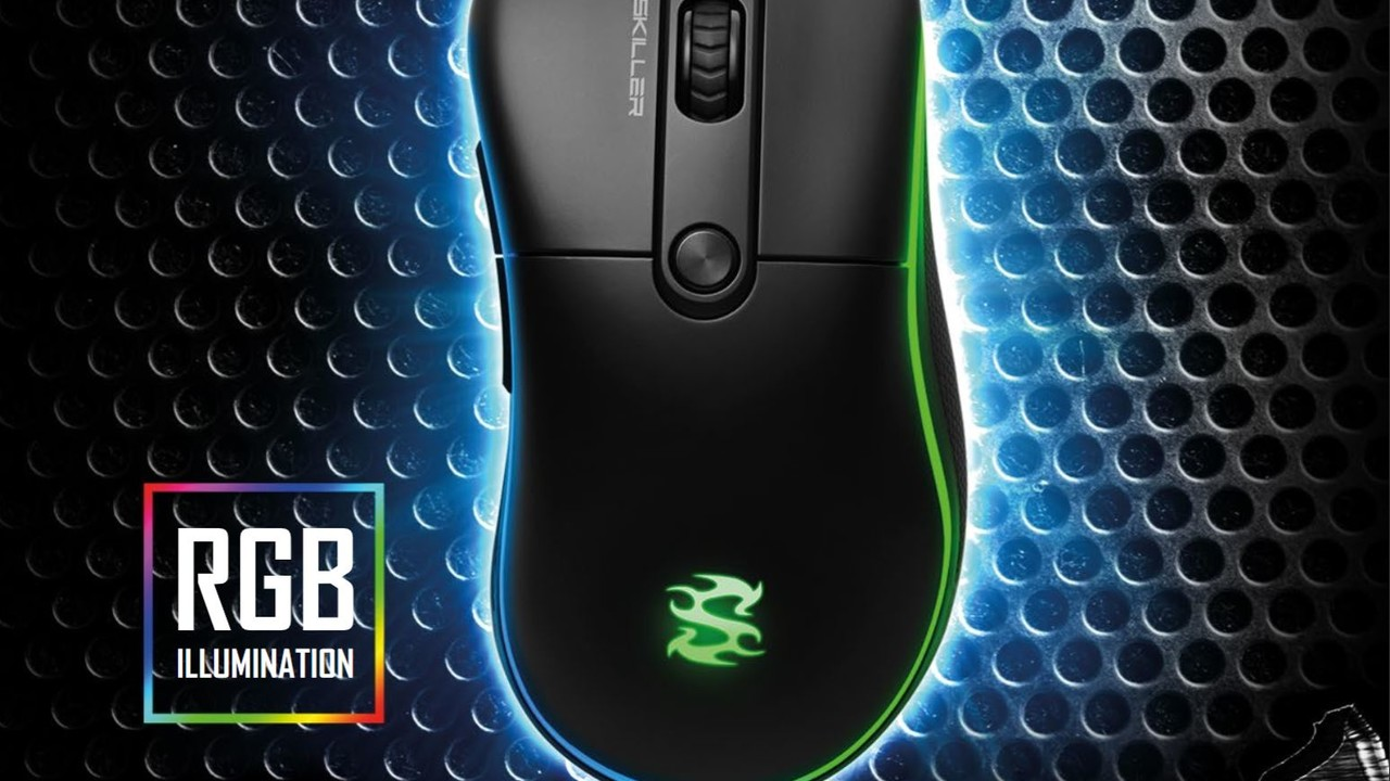 Sharkoon Skiller SGM2: Bunte Budget-Maus mit unbekanntem Sensor