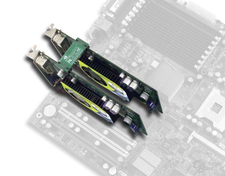 GeForce 6600 GT im SLI-Mode