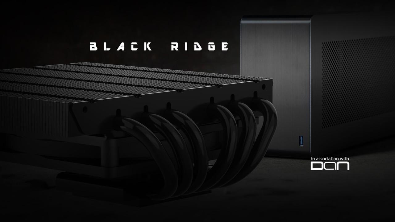 Alpenföhn Black Ridge: Flacher Power-Kühler für Kleinst-PCs wie den DAN A4