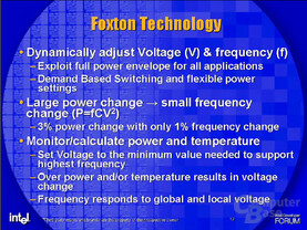 Intels Foxton-Technolgie