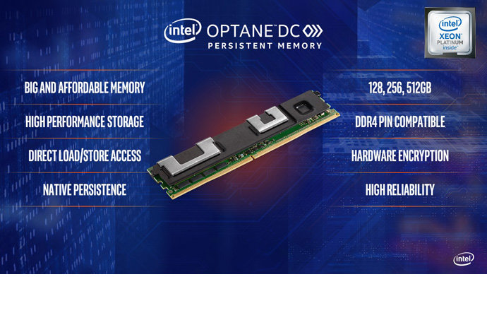 Intel Optane DC Persistent Memory mit bis zu 512 GB
