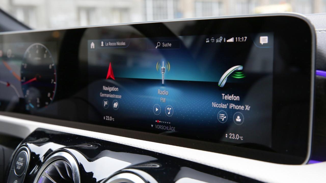 Mercedes-Benz MBUX im Test: Das Smartphone unter den Autos