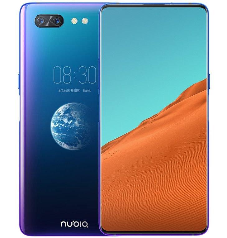 Nubia X Front und Rückseite