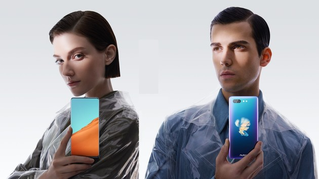 Nubia X Smartphone: Zweites Display hinten statt Frontkamera und Notch