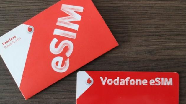 Vodafone: eSIM ab sofort bei allen Post-Paid-Tarifen möglich