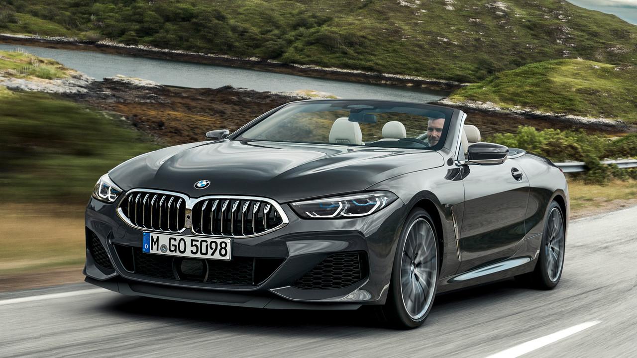 BMW: 8er Cabrio kommt mit neuem Cockpit und Sprachassistent