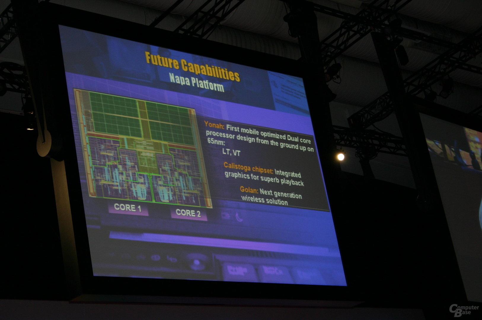 Intels Napa Plattform