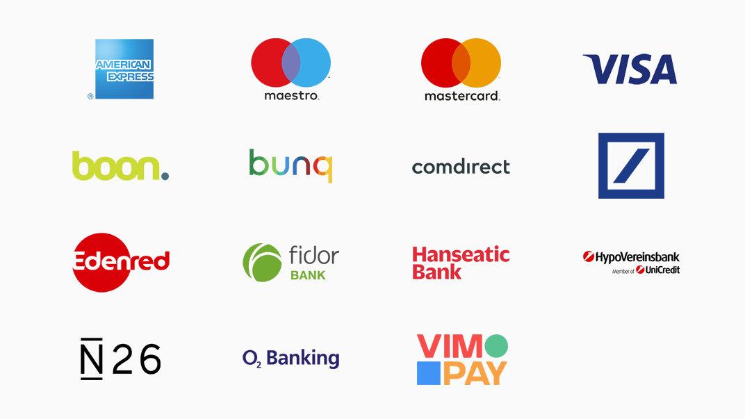 Apple Pay unterstützende Partner