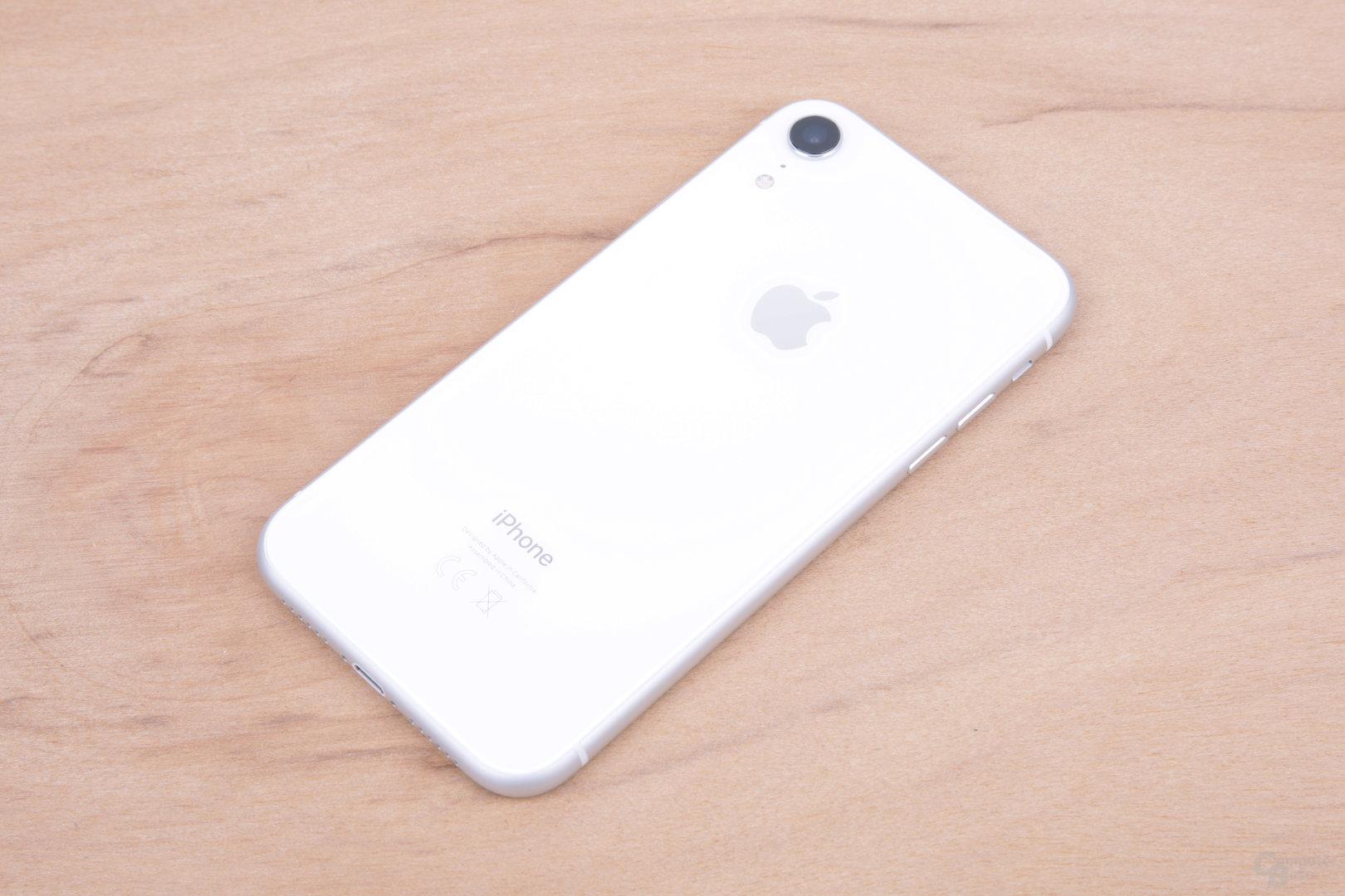 iPhone Xr in Weiß