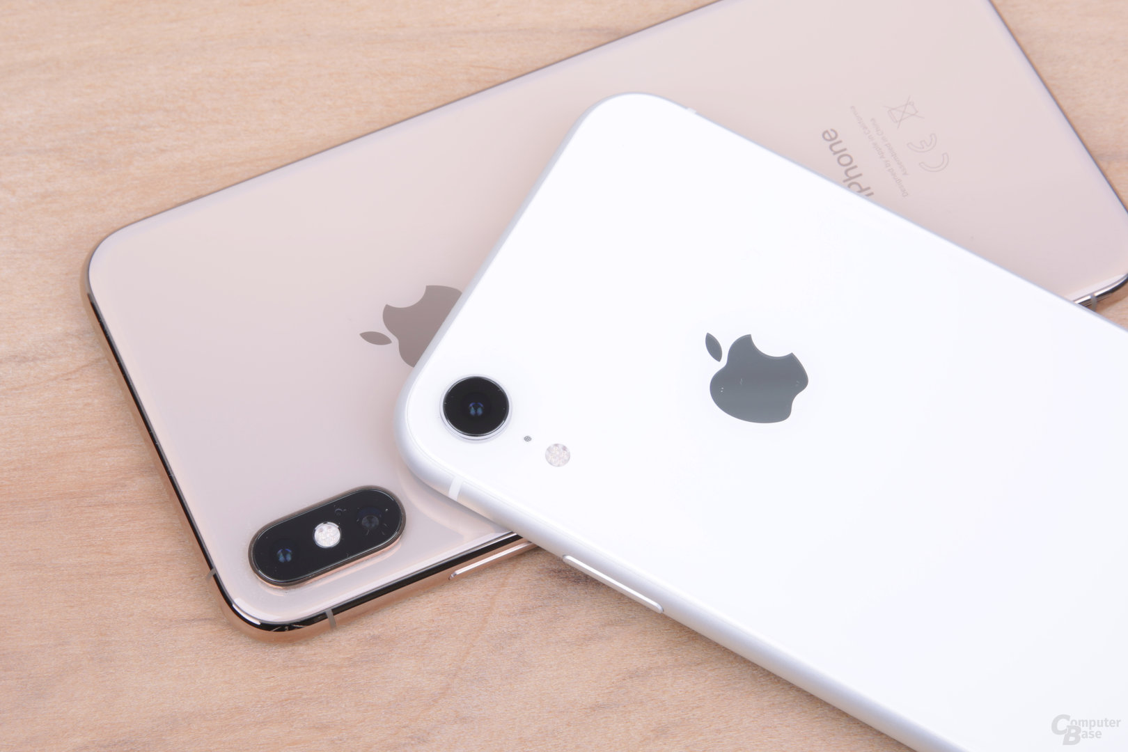 Single-Kamera mit der Hauptkamera des iPhone Xs (Max)