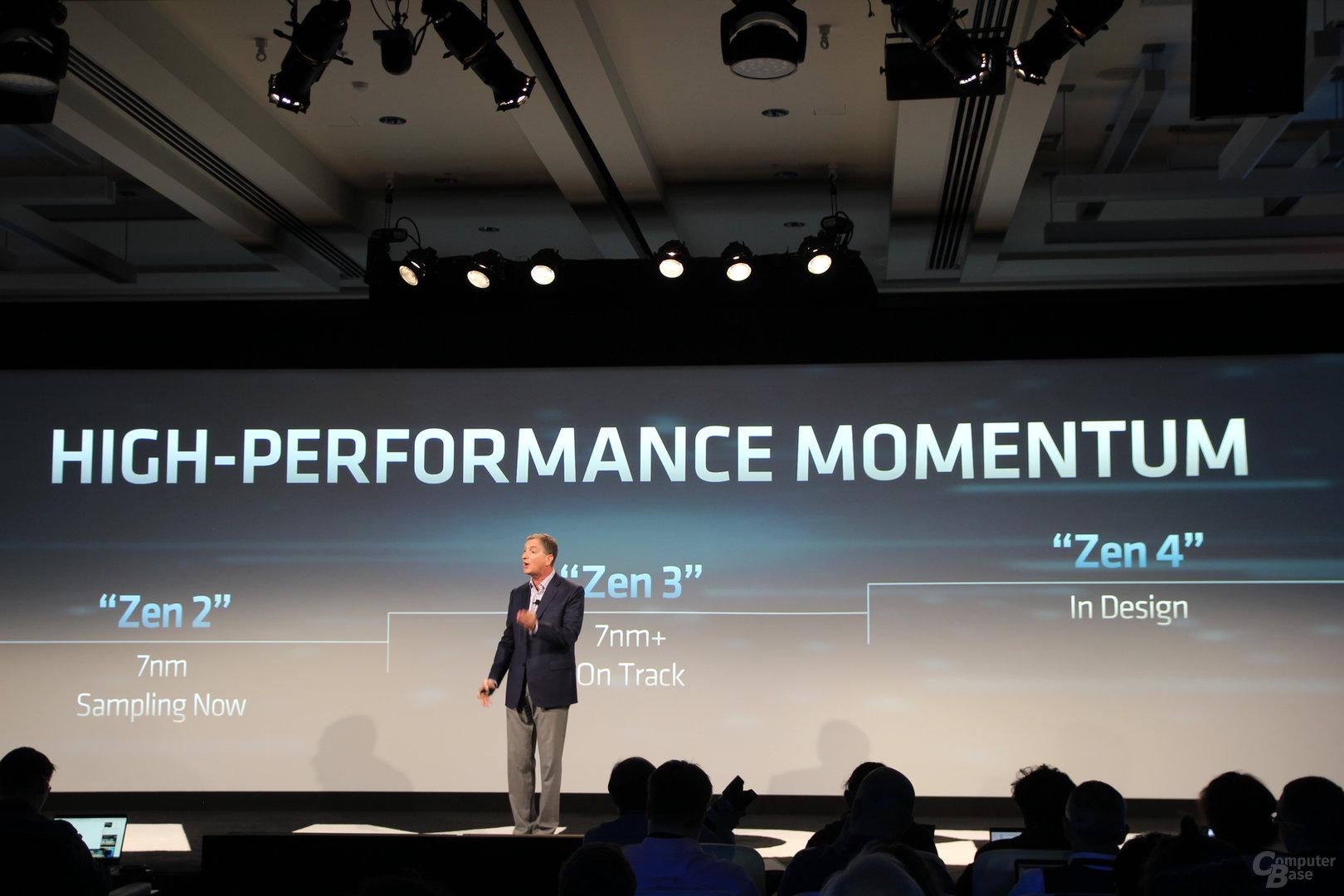 AMD Zen 2, Zen 3 und Zen 4
