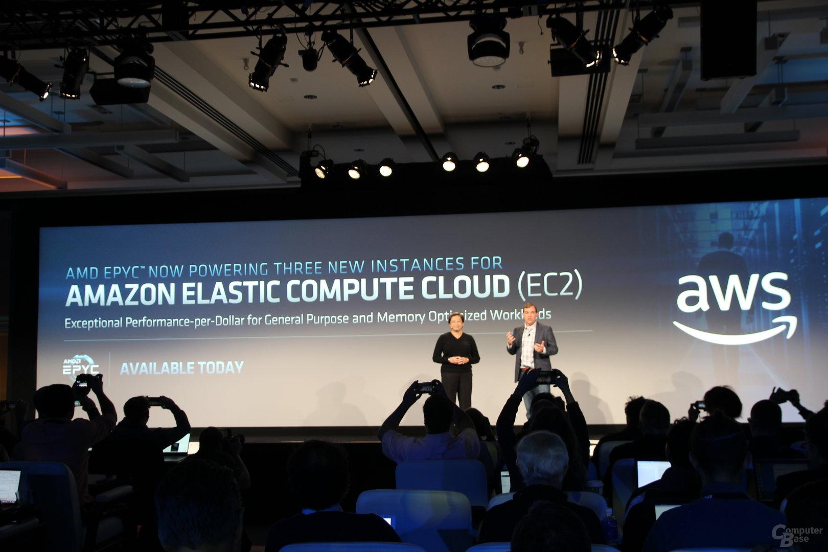 AWS ist nun Kunde bei AMD