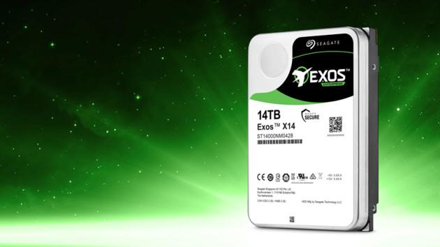 Seagate Exos X14: 14-TB-HDDs für die Daten dieser Welt [Gesponsert]