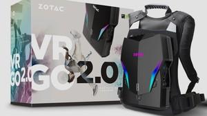 VR Go 2.0: Zotacs VR-Rucksack geht in die zweite Generation