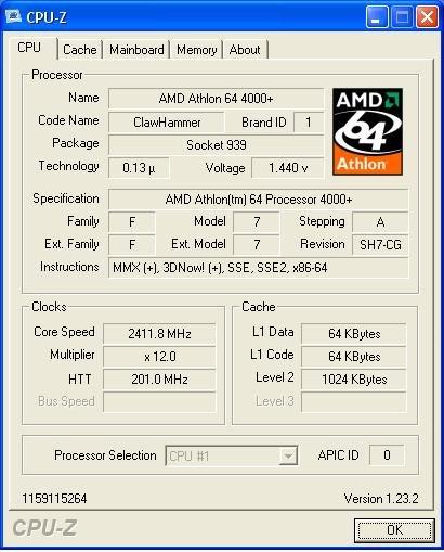 Athlon 64 4000+ | Quelle: AMDZone