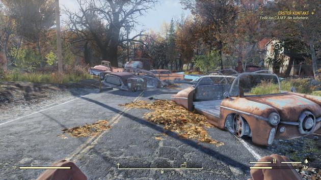 Fallout 76 im Test: Postapokalypse mit VSync und FPS-Limit