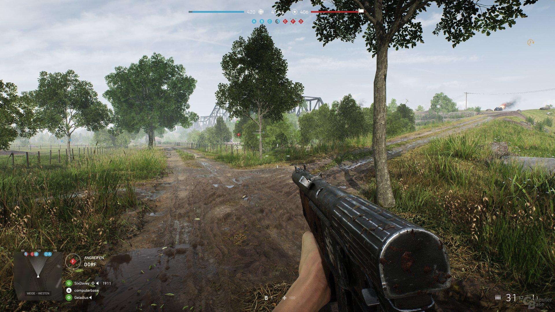 Battlefield V im Benchmark-Test