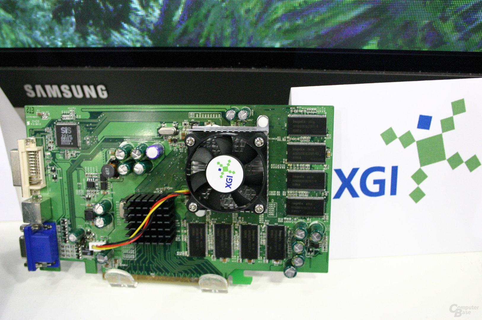 XGI Volari für PCI Express