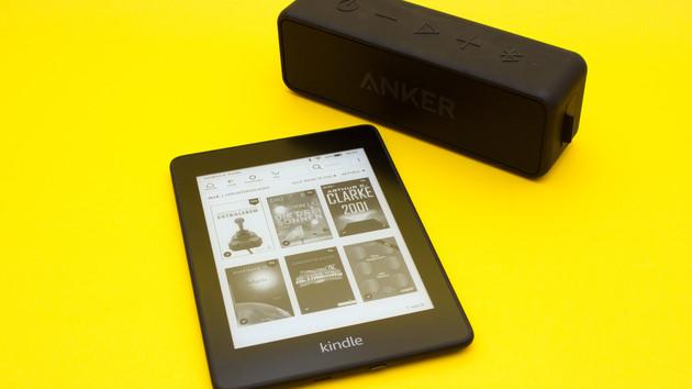 Kindle Paperwhite 2018 im Test: Mit Wasserschutz und Audible wieder vorne mit dabei