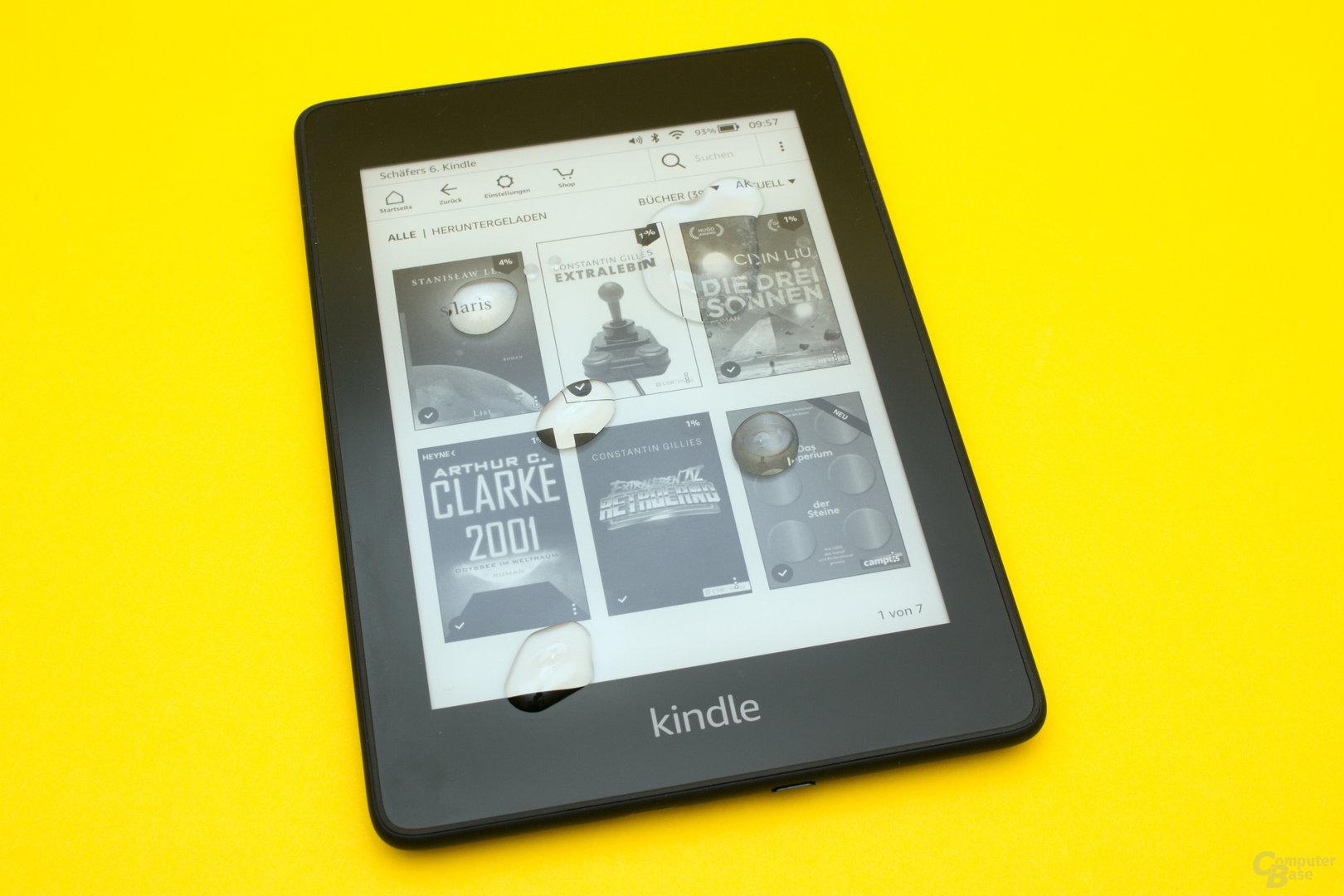 Kindle Paperwhite 2018 – Nun auch mit Wasserschutz