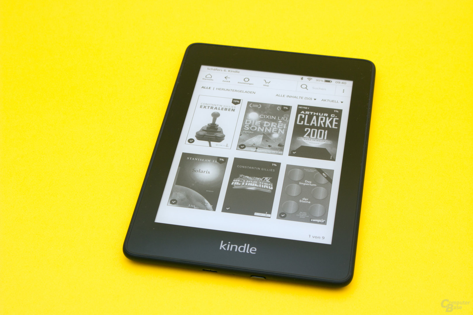 Kindle Paperwhite im Test