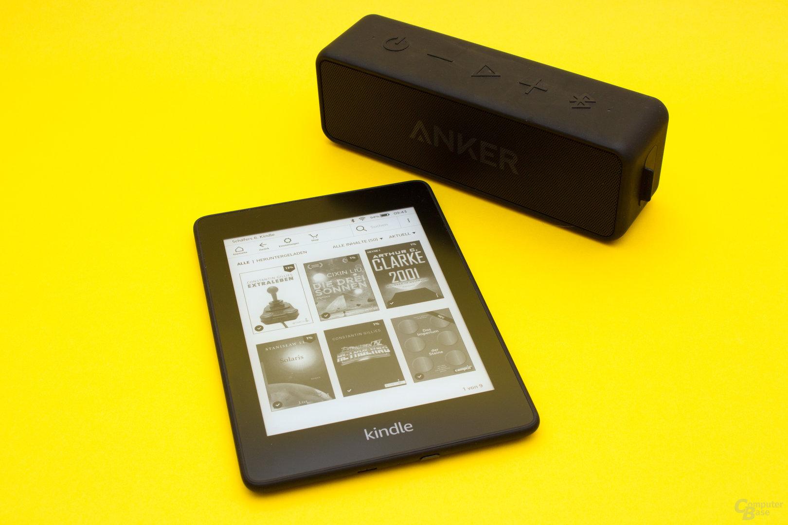 Der neue Kindle Paperwhite unterstützt nun auch Audible und Bluetooth-Ausgabe