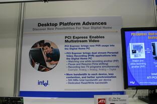 Neuer Möglichkeiten Dank PCI Express