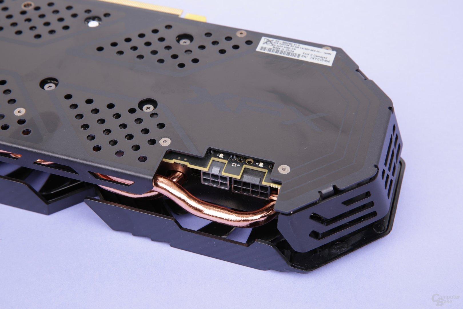 XFX Radeon RX 590 Fatboy OC+ – Stromversorgung