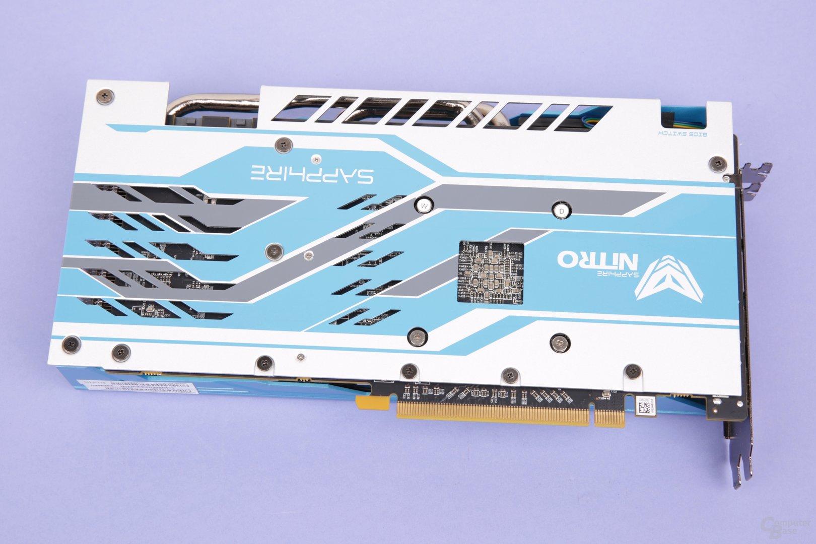 Sapphire Radeon RX 590 Nitro+ SE – Rückseite