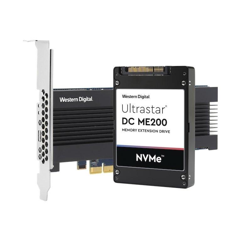 Western Digital Ultrastar DC ME200 in zwei Formaten