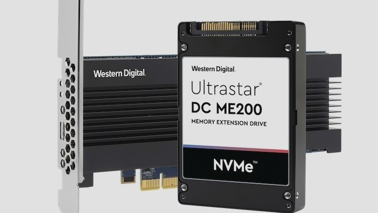 Memory Extension Drive: Western Digital macht NVMe-SSD zur RAM-Ergänzung
