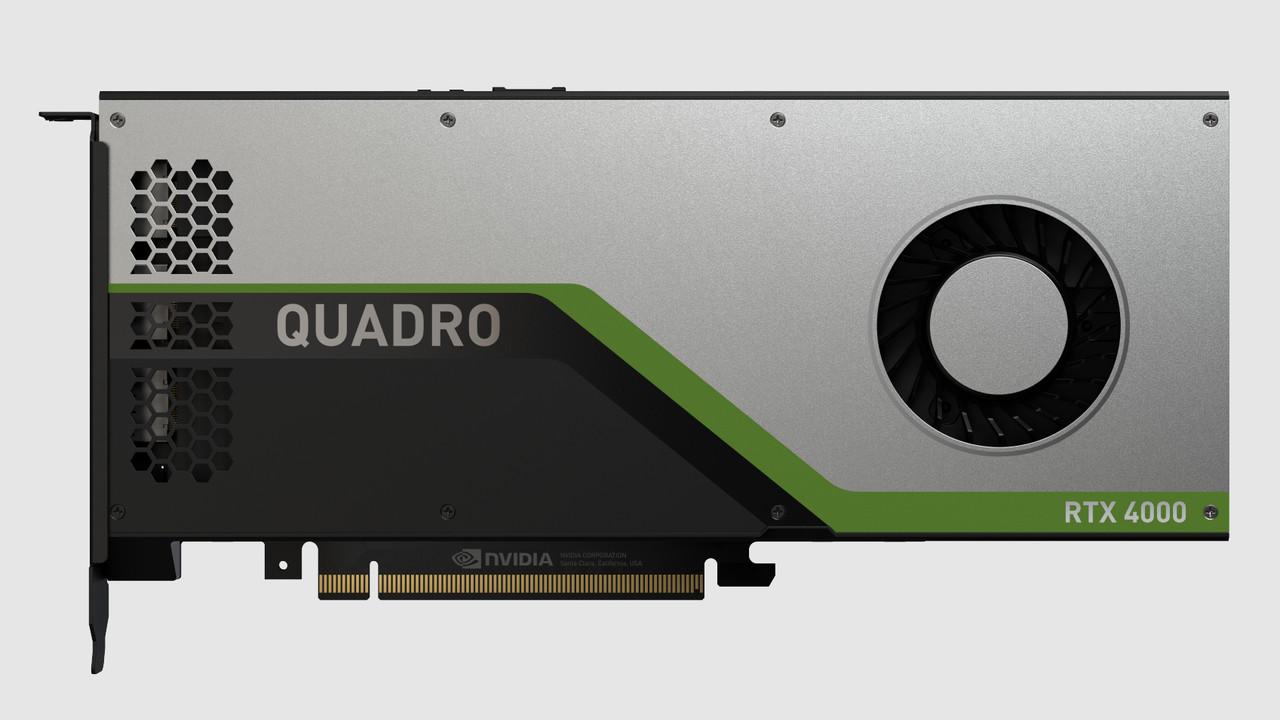Quadro RTX 4000: Kleinste Quadro mit Turing ist eine langsamere RTX 2070