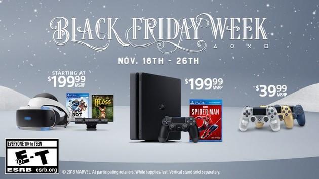 PlayStation: Sony lockt zum Black Friday mit Angeboten