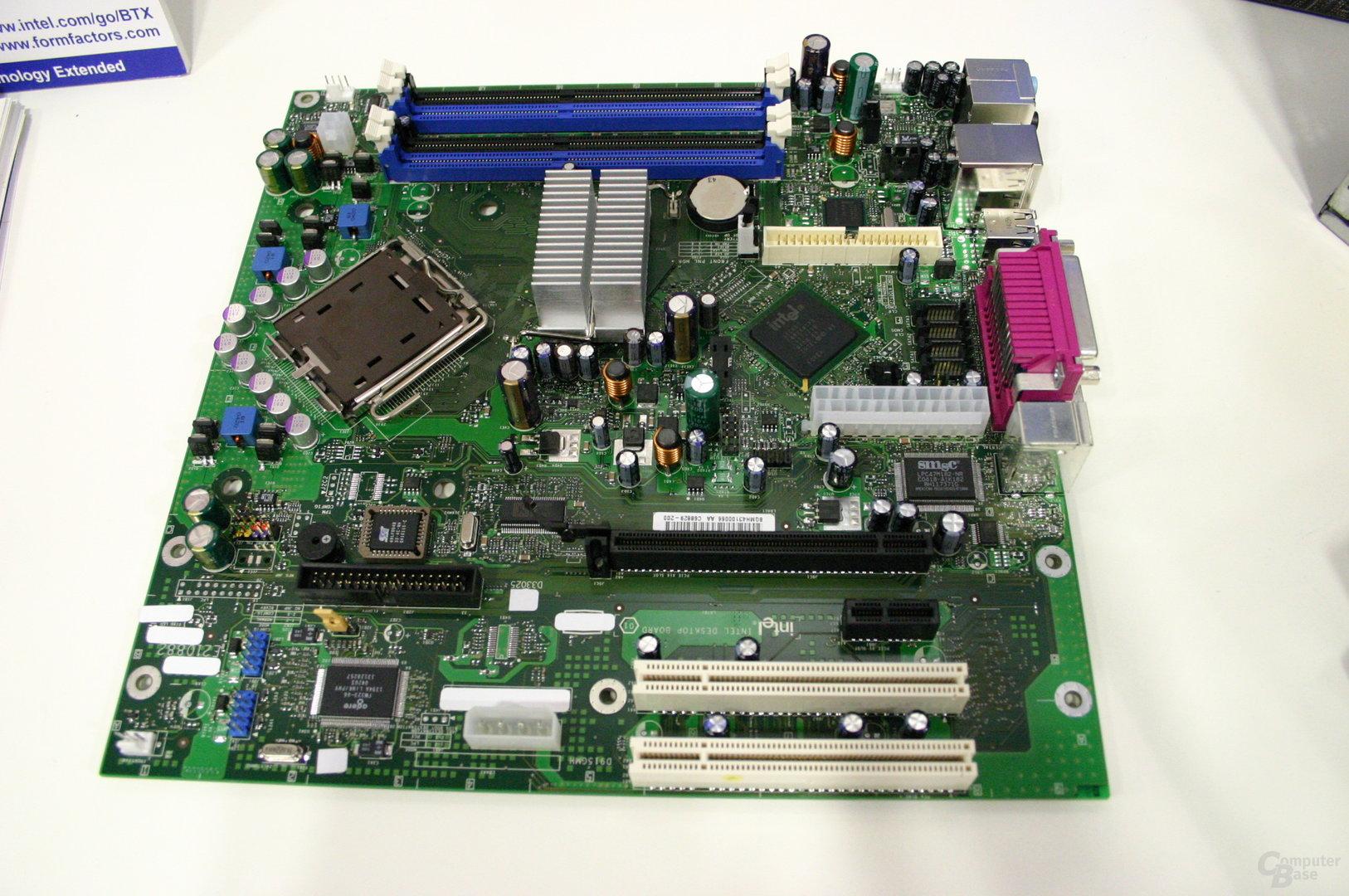Sockel 775-microBTX-Board von Intel
