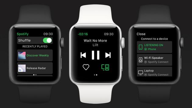 Nach kurzer Beta: Spotify für Apple Watch offiziell verfügbar