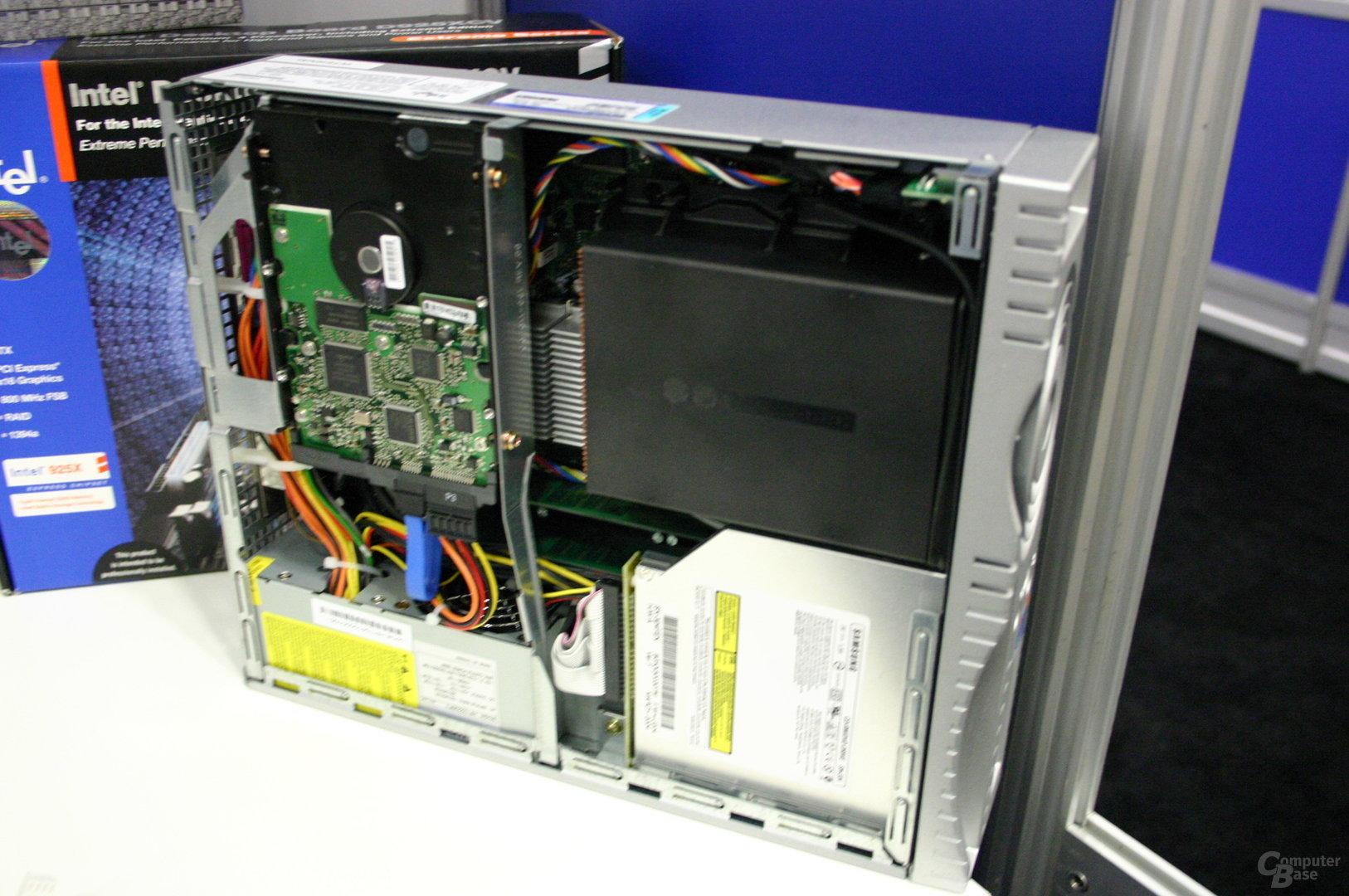 Ein Blick in das Innere eines picoBTX-Systems