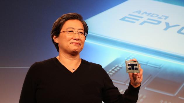 """AMD Epyc """"Rome"""": 64-Kern-Prozessor taktet im Supercomputer mit 2,35 GHz"""