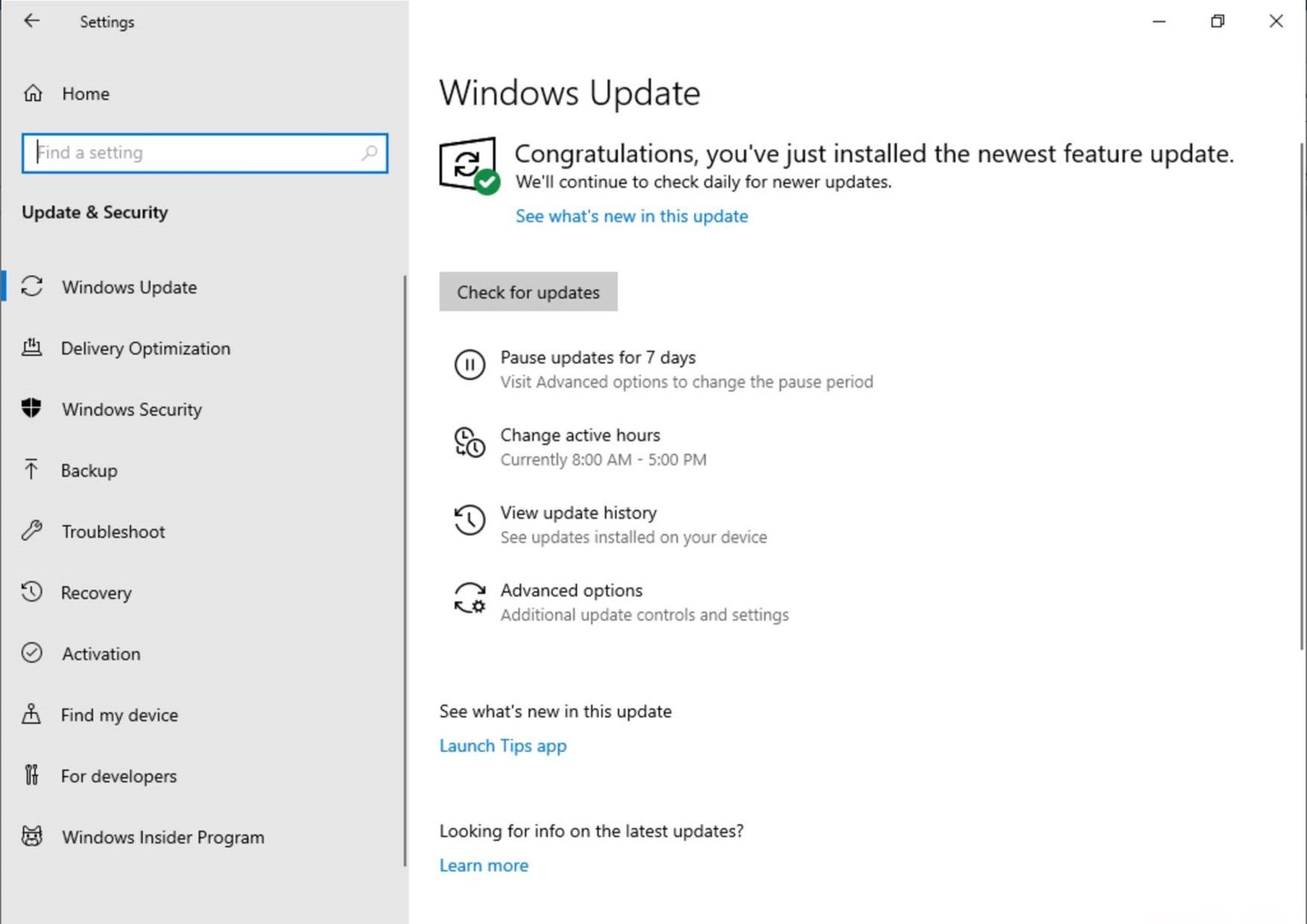 Mehr Kontrolle für Windows Updates