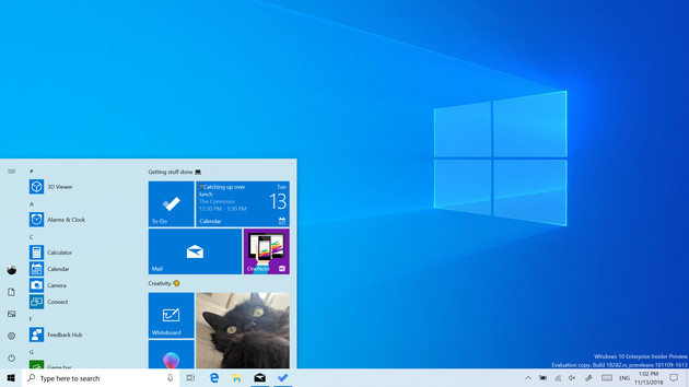 Light Theme: Windows 10 19H1 bringt ein neues, helles Design