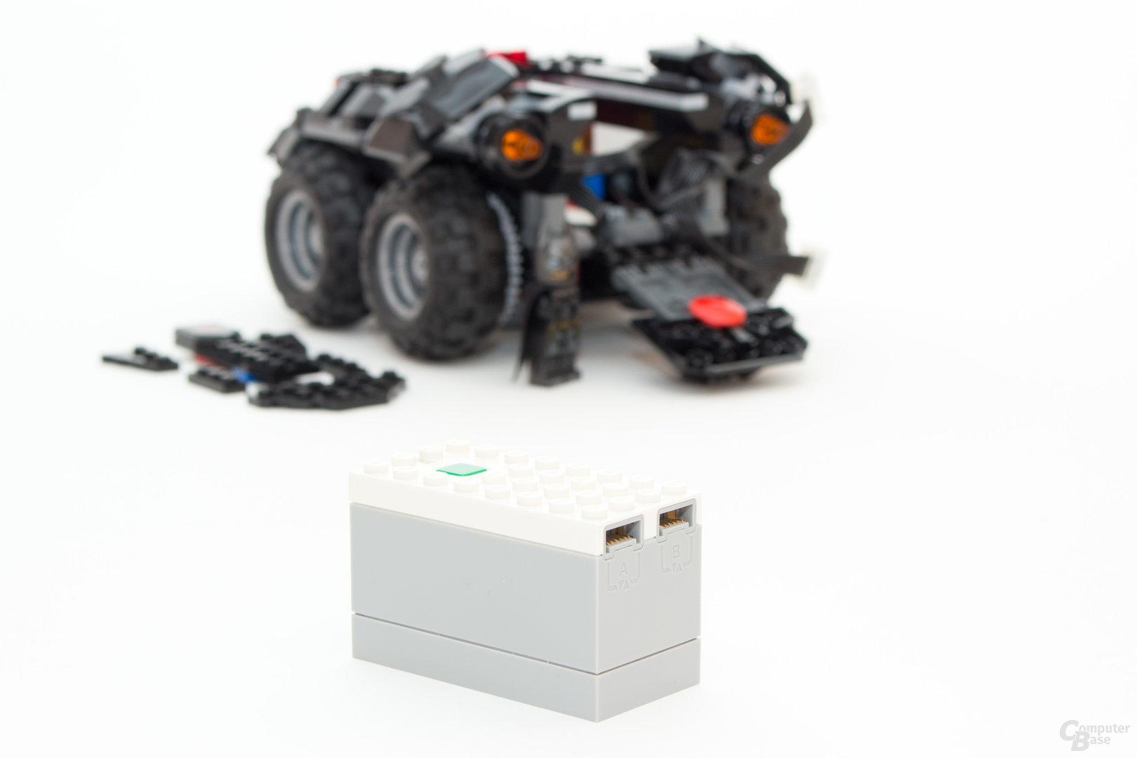 Die Batterie-Box der neuen Power Functions besitzt nun auch ein Bluetooth-Modul