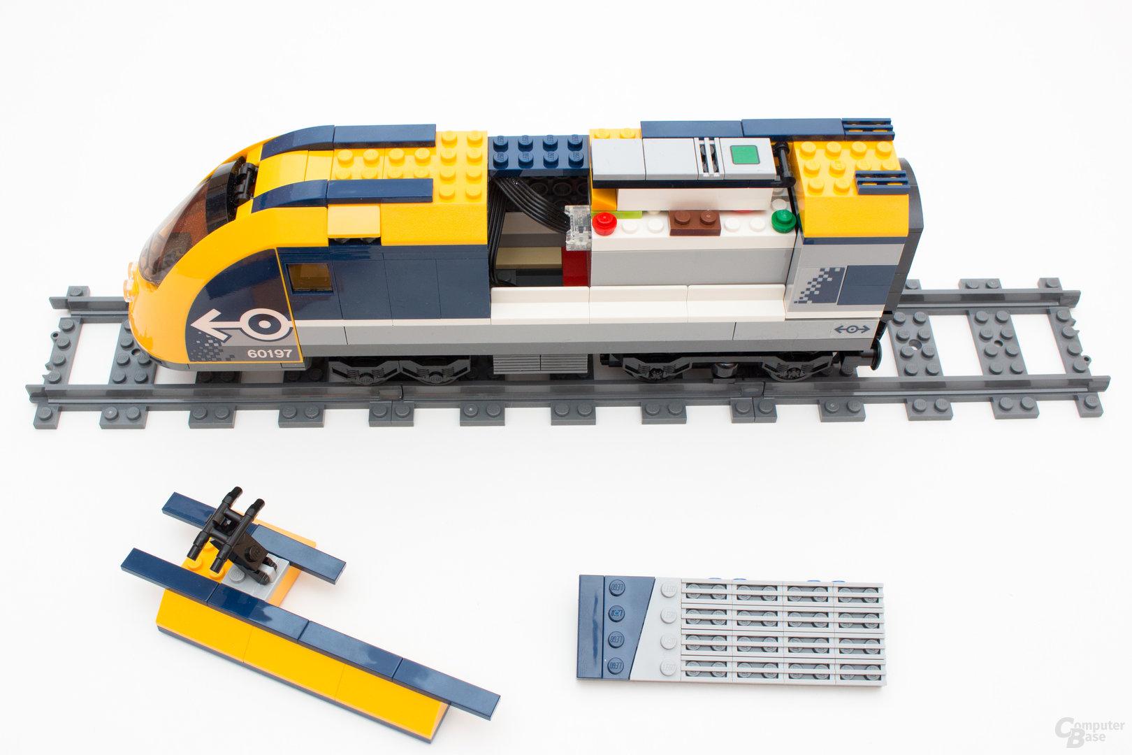 Bluetooth statt wie bisher Infrarot beim neuen Personenzug 60197 von Lego