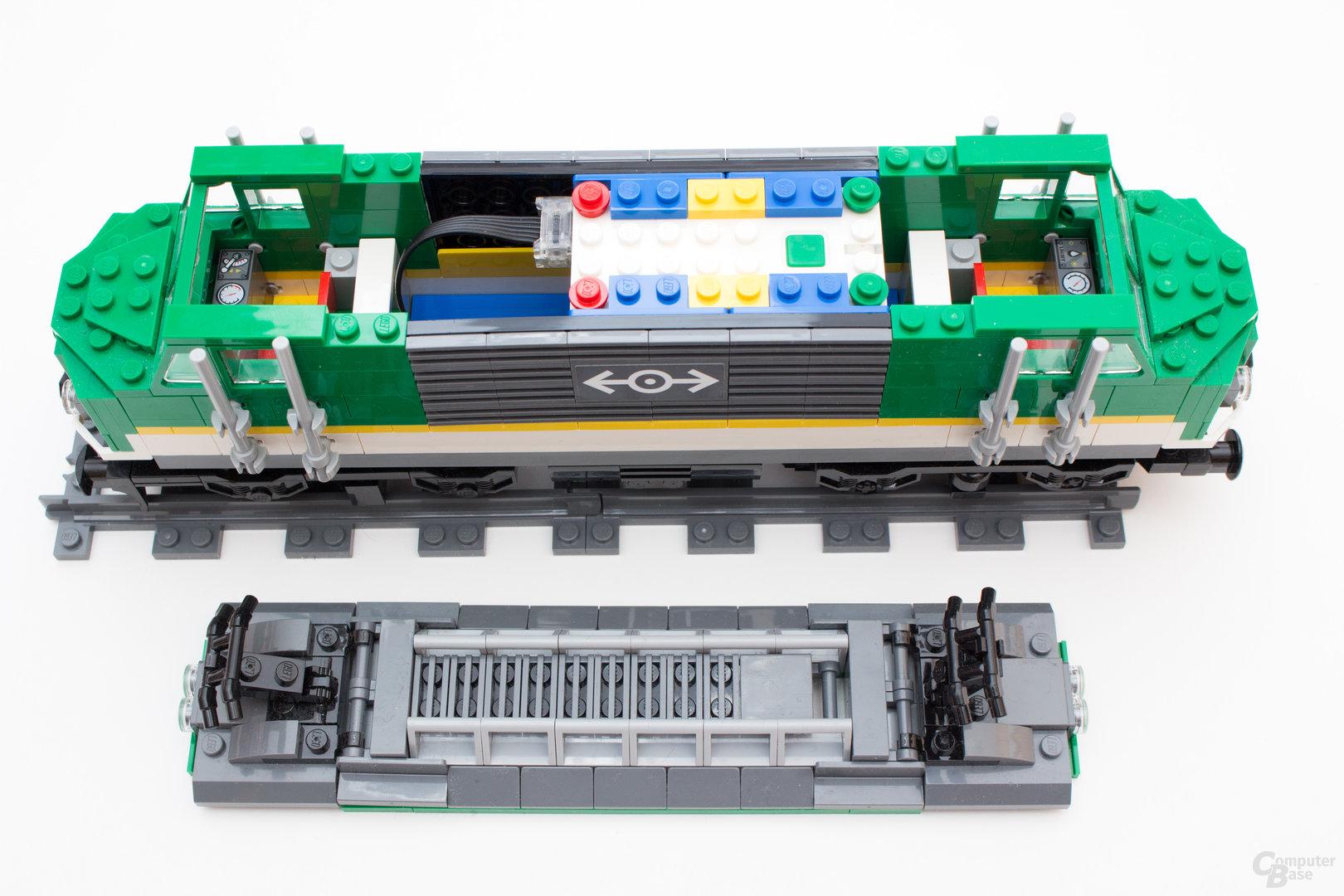 Bluetooth statt wie bisher Infrarot beim neuen Güterzug 60198 von Lego