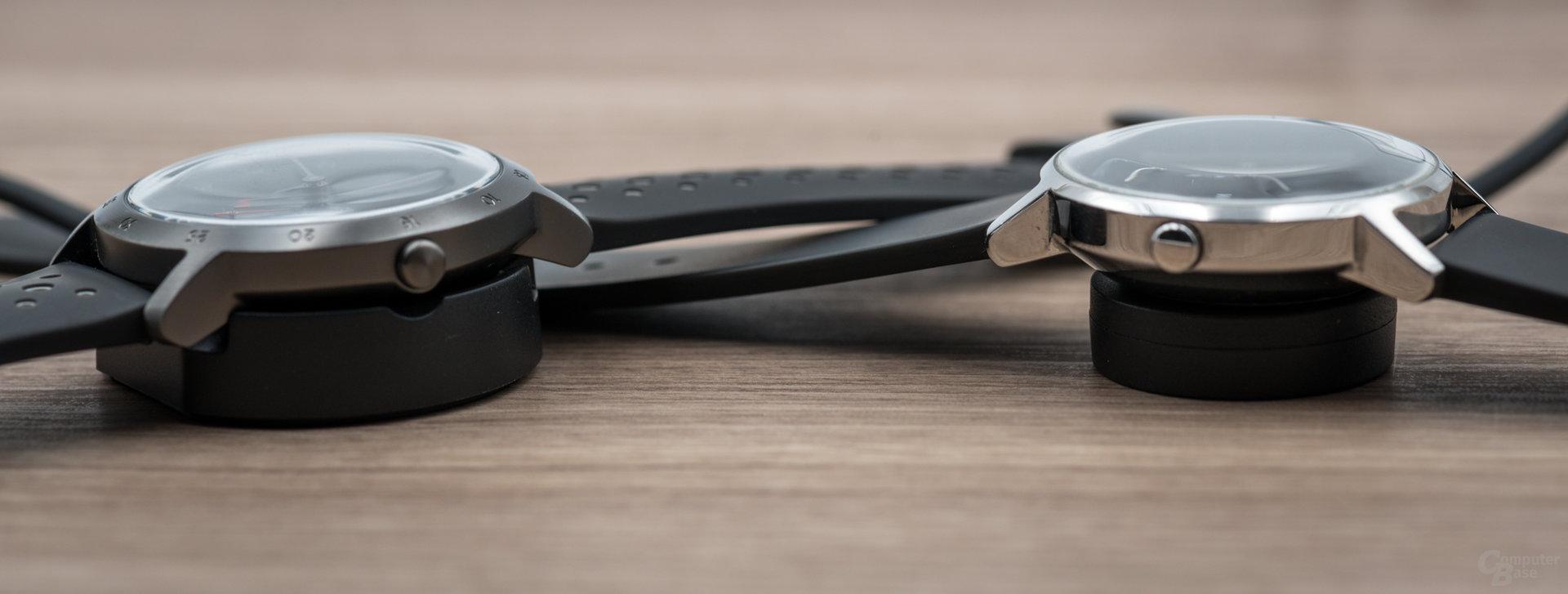 Withings Steel HR Sport verbesserter Lademechanismus