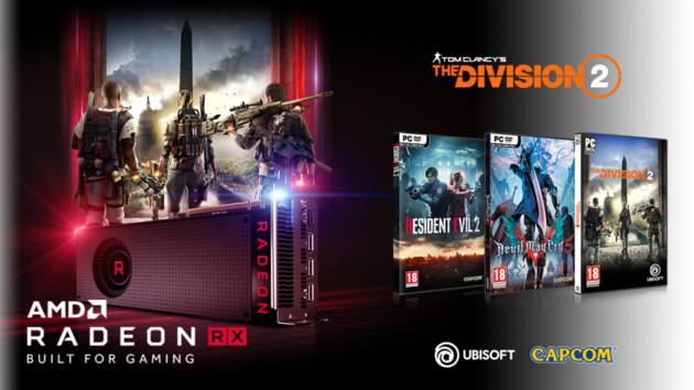 Radeon Bundle: Gratisspiele beim Kauf von RX Vega, RX 590, RX 580, RX 570